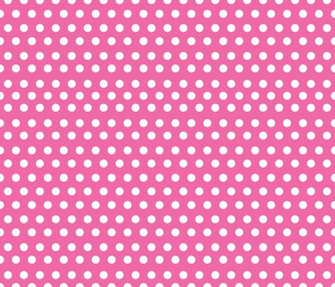 Colorful Fabrics Digitally Printed By Spoonflower Bright Pink Polka Dot Pink Polka Dots Polka Dot Curtains Polka Dot Fabric