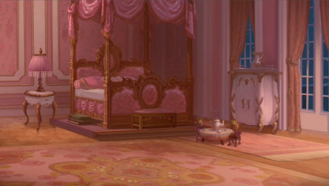 Anime princess bedroom background variant living in 2020