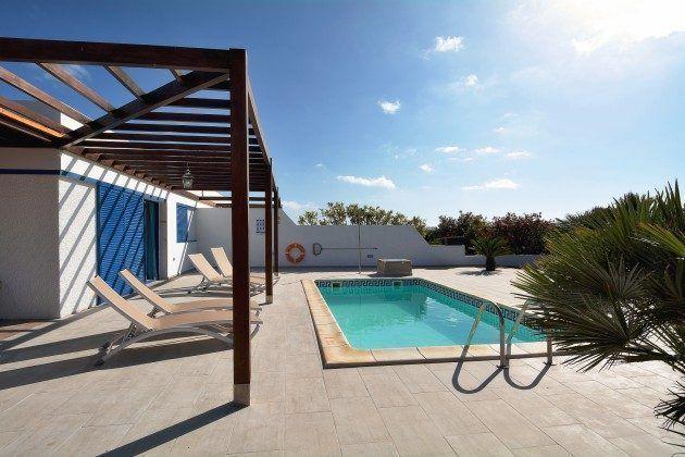 Spanien Kanarische Inseln Lanzarote Villa mit privatem
