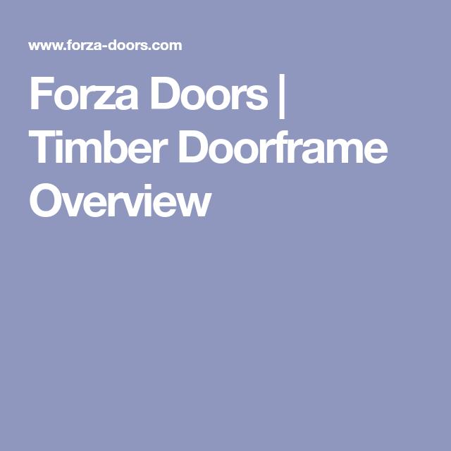 Forza Doors | Timber Doorframe Overview  sc 1 st  Pinterest & Forza Doors | Timber Doorframe Overview | Kap? detay? ho? ...