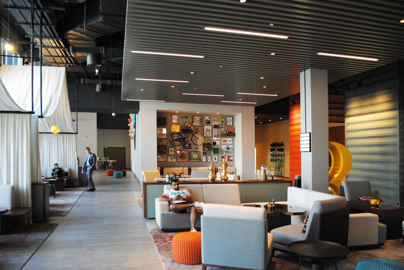 Interior design for six new cosmopolitan hotels