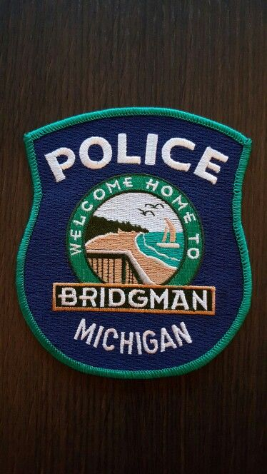 Bridgman Pd Michigan Police Police Patches Police Badge