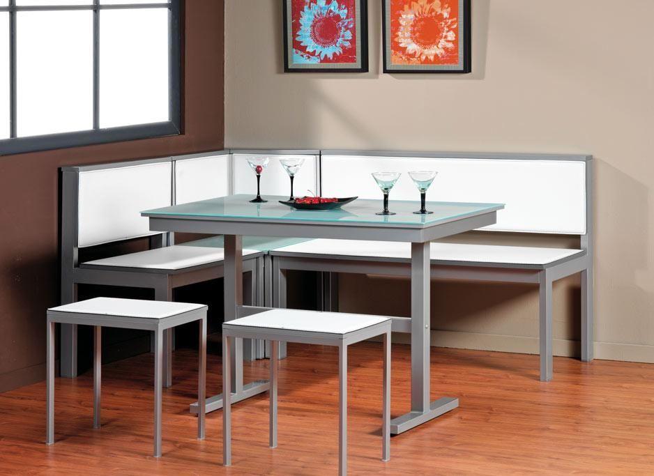 Mesa de cocina berna rinconera mesas de cocina bancos for Banco rinconera cocina