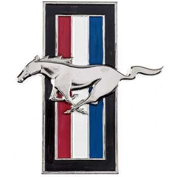 Hobby Crafts & Decor - Ford Mustang Horse Wall Logo