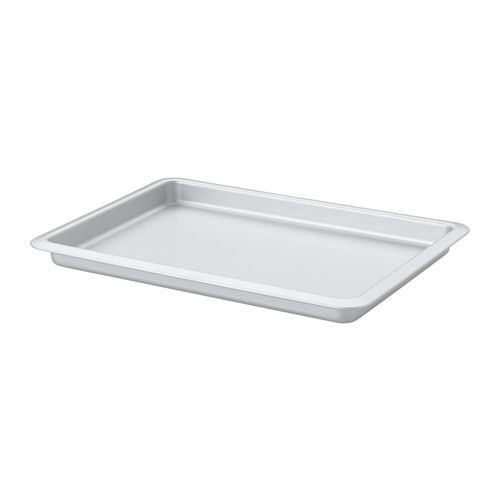 IKEA - VARDAGEN, Baking pan, Anodized aluminum gives the baking pan a durable surface so that you can keep baking for years.