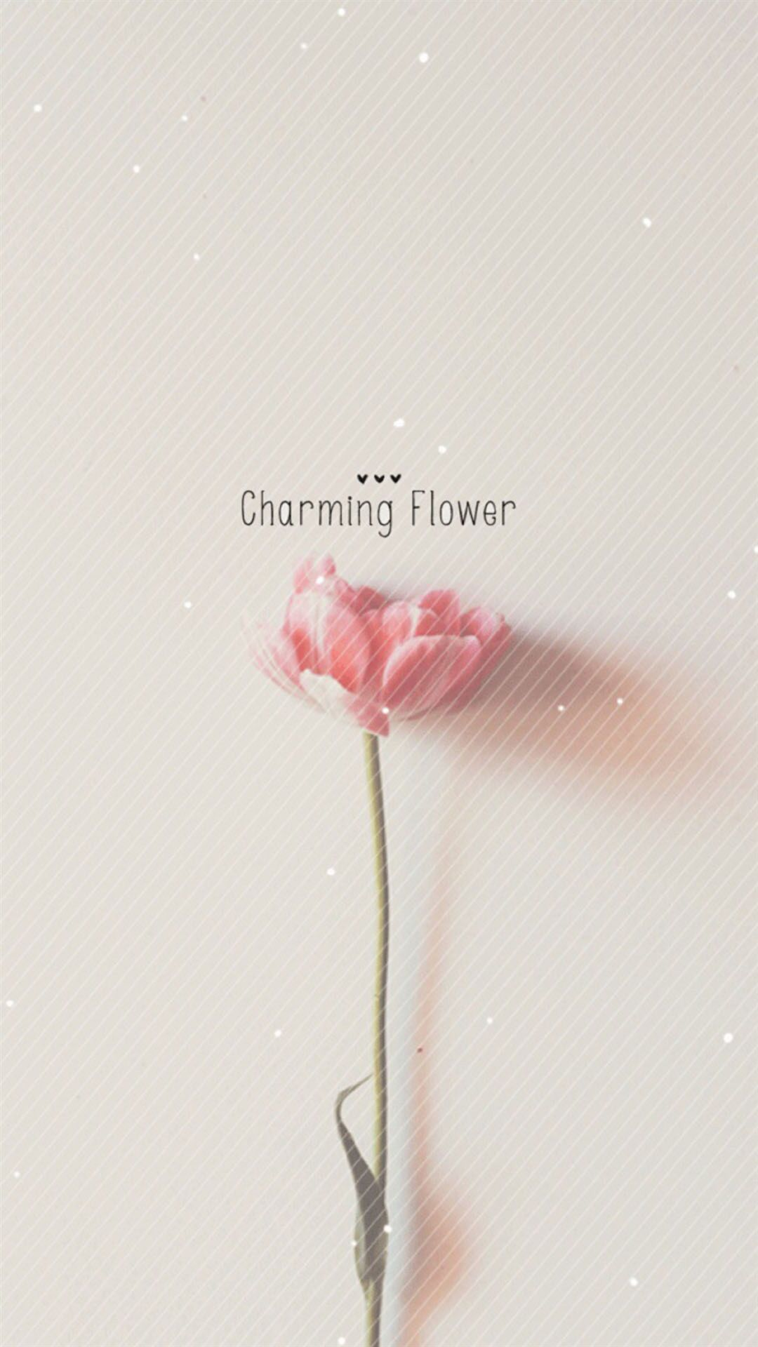 Pure Charming Flower Simple Pattern Iphone 6 Plus
