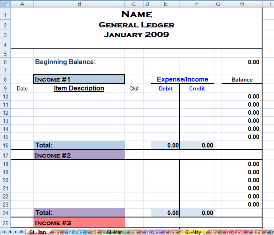 accounting spreadsheet for small business - Khafre