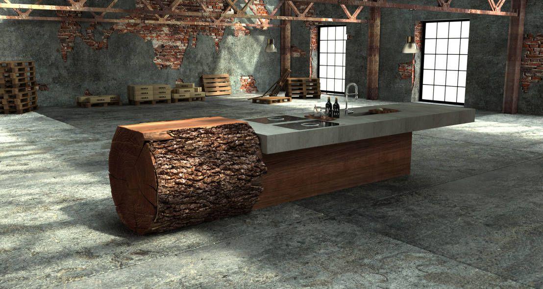 kuhle dekoration kucheneinrichtung munchen, 8 ausgefallene küchen   küchen   pinterest   haus, design und holz, Innenarchitektur