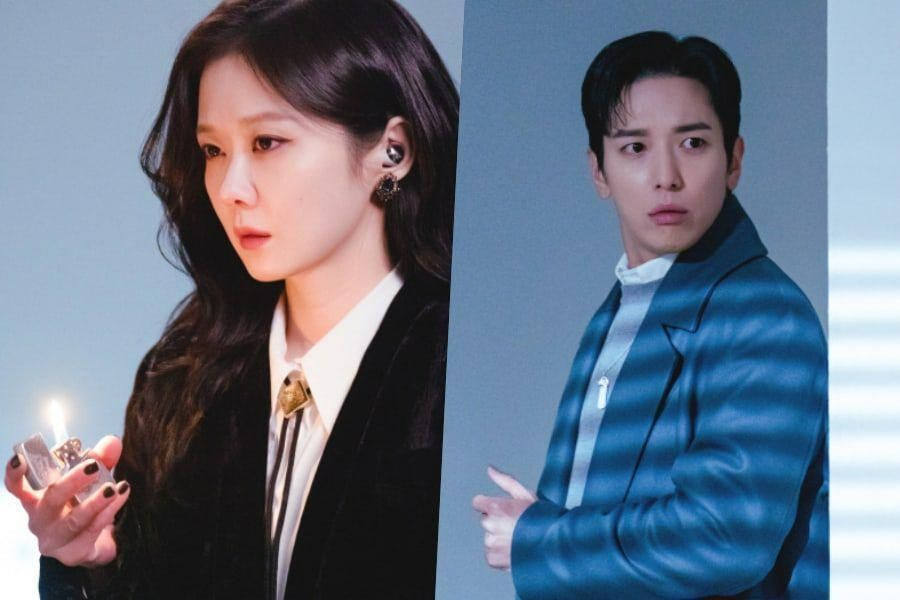 Jang Nara And Jung Yong Hwa Are Complete Opposites During Their 1st Encounter In New Drama About Ghosts