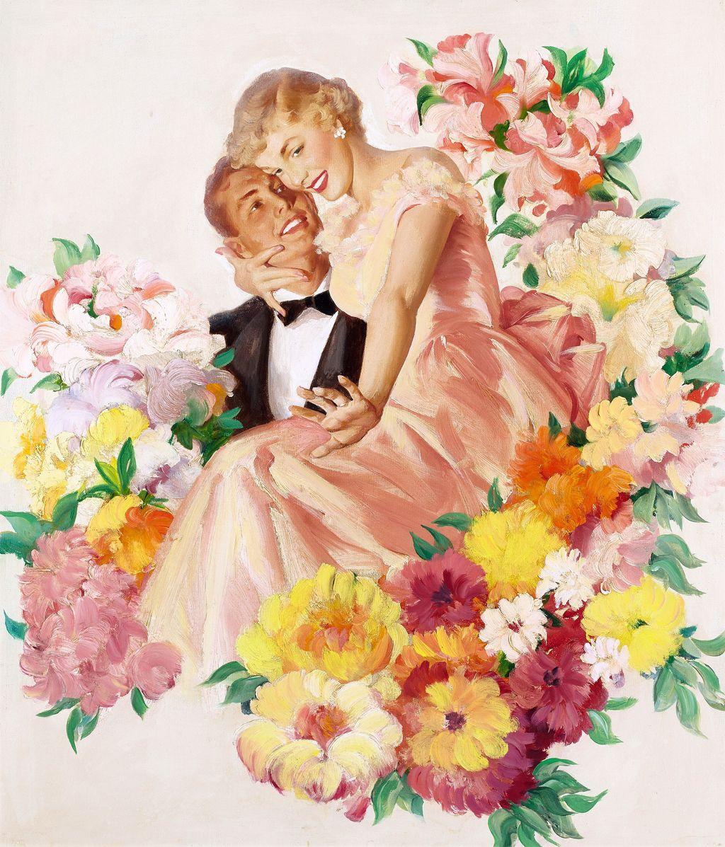 Пятница картинки, старинные романтичные открытки