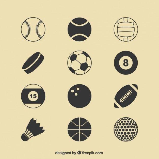 Discover And Download Free Sports Vectors Futbol Vector Balon De Futbol Balones