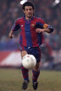 José Mari Bakero, FC Barcelona.