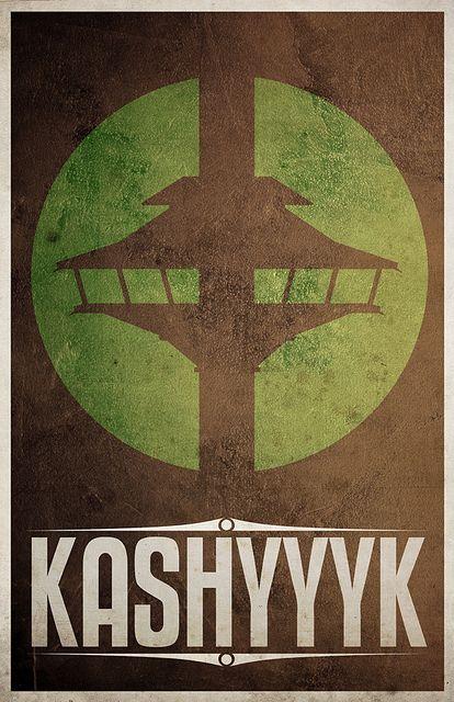 Kashyyk  http://www.flickr.com/photos/justinvg/4813912127/