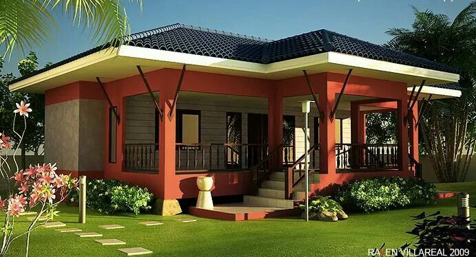 Pin By Abba Jennifer On Floor Plans And 3d Models One Storey House Philippines House Design Philippine Houses