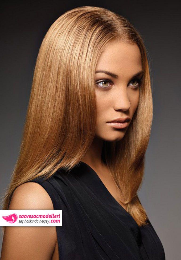 Altın Karamel Saç Rengi ve Modelleri 2019 17