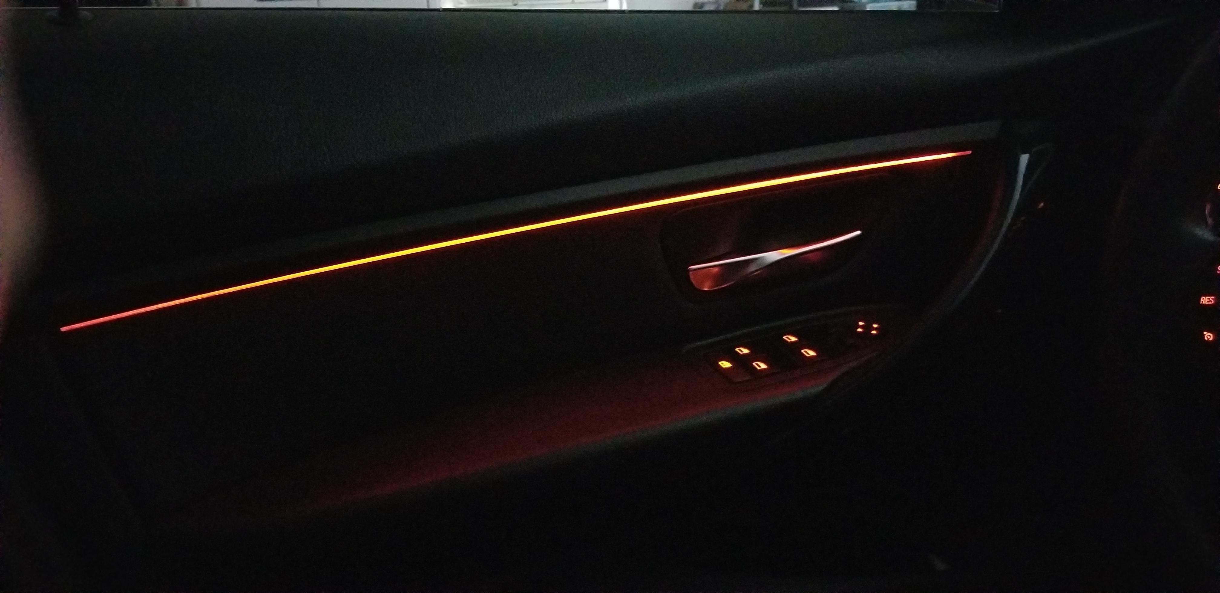 F30 Ambient Interior Light Upgrade Interior Lighting Ambient