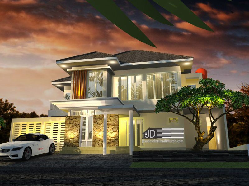 Pin Oleh Jasadesainrumahmurah Com Di Tropis Home Rumah Mewah Home Fashion Rumah