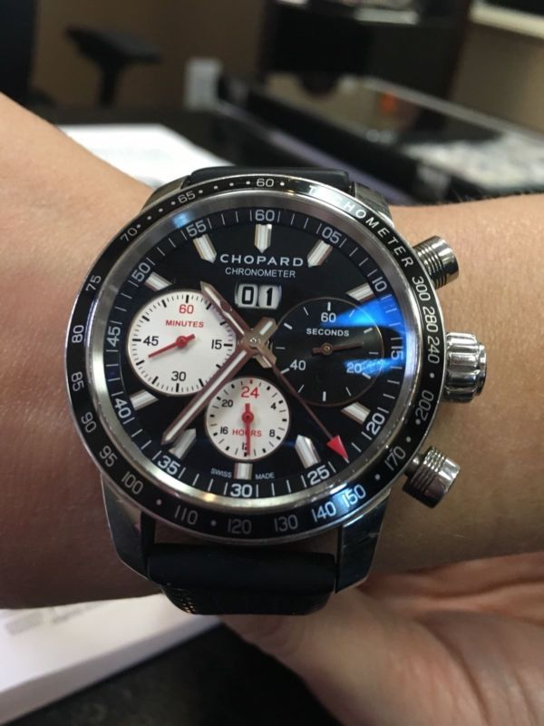 Chopard Mille Miglia Automatic Chronograph 168543-3001 JACKY ICKX EDITION V 1dc03fac4a34