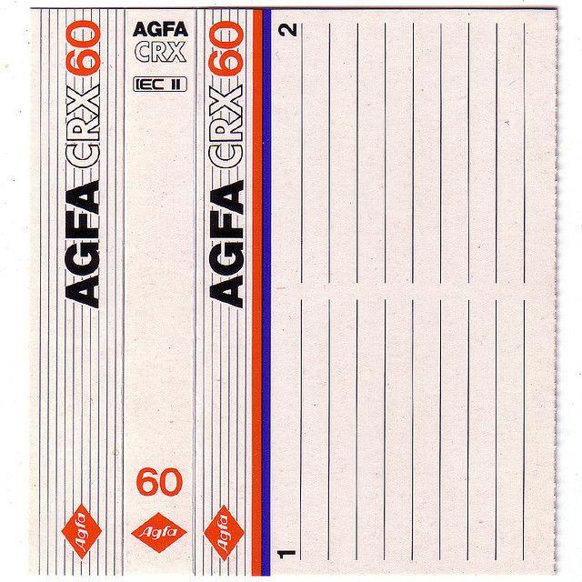 Agfa Cassette Tapes Cassette Vhs