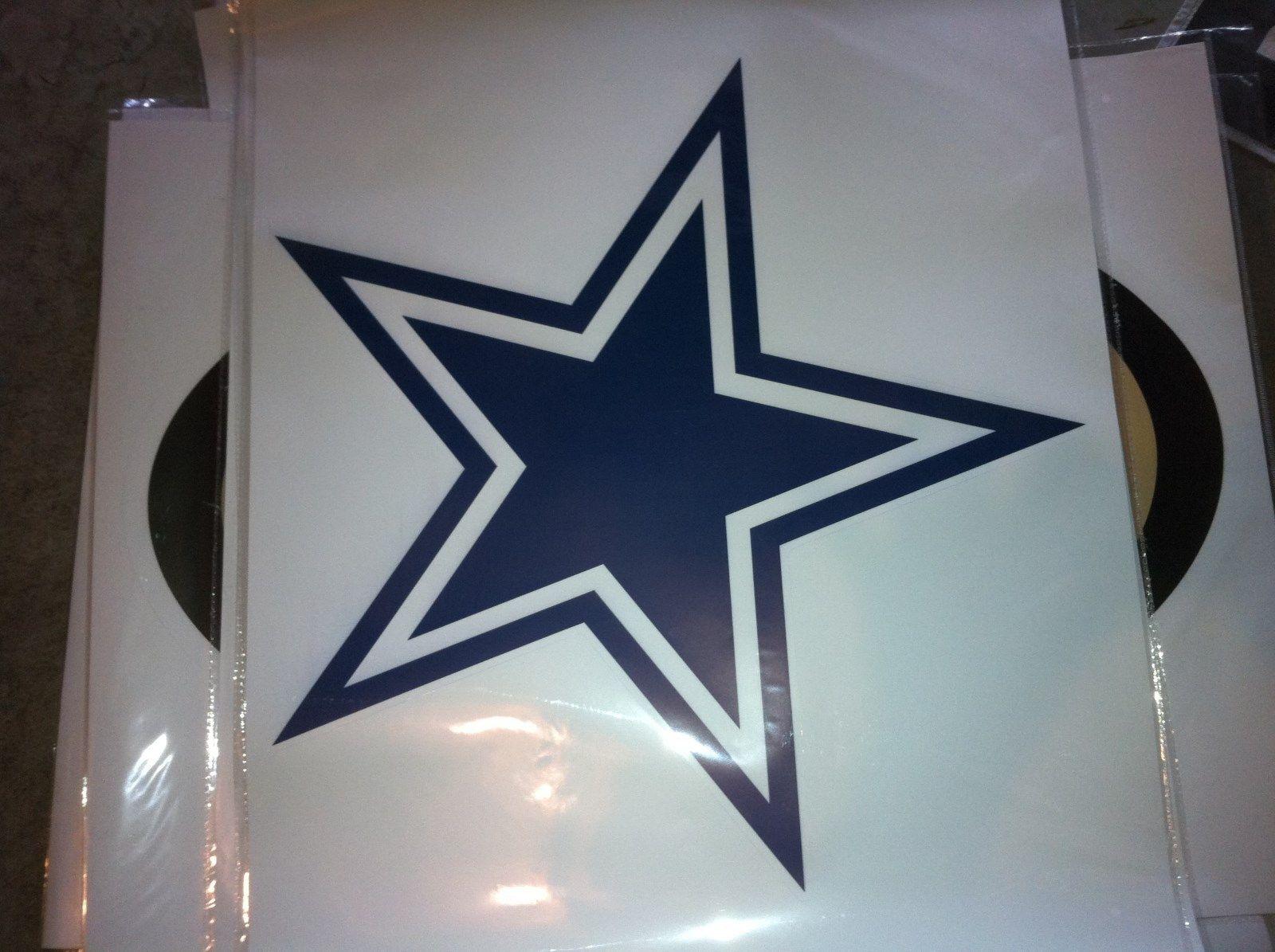 NFL Vinyl Logo Wall Sticker Dallas Cowboys   Dallas ...