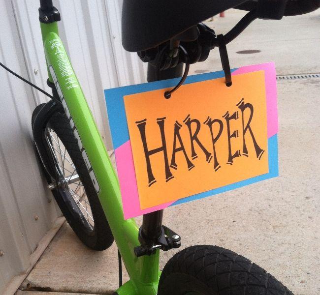 Diy Bike License Plate Bicycle Crafts Diy Personalized Diy