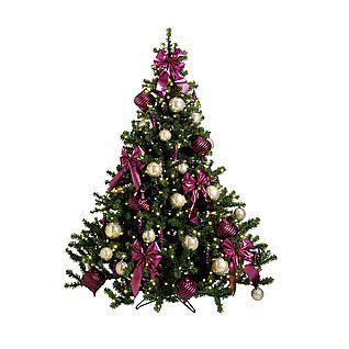 """Deko Weihnachtsbaum """"Pink-Dekor"""" & Dekoration bei DekoWoerner"""