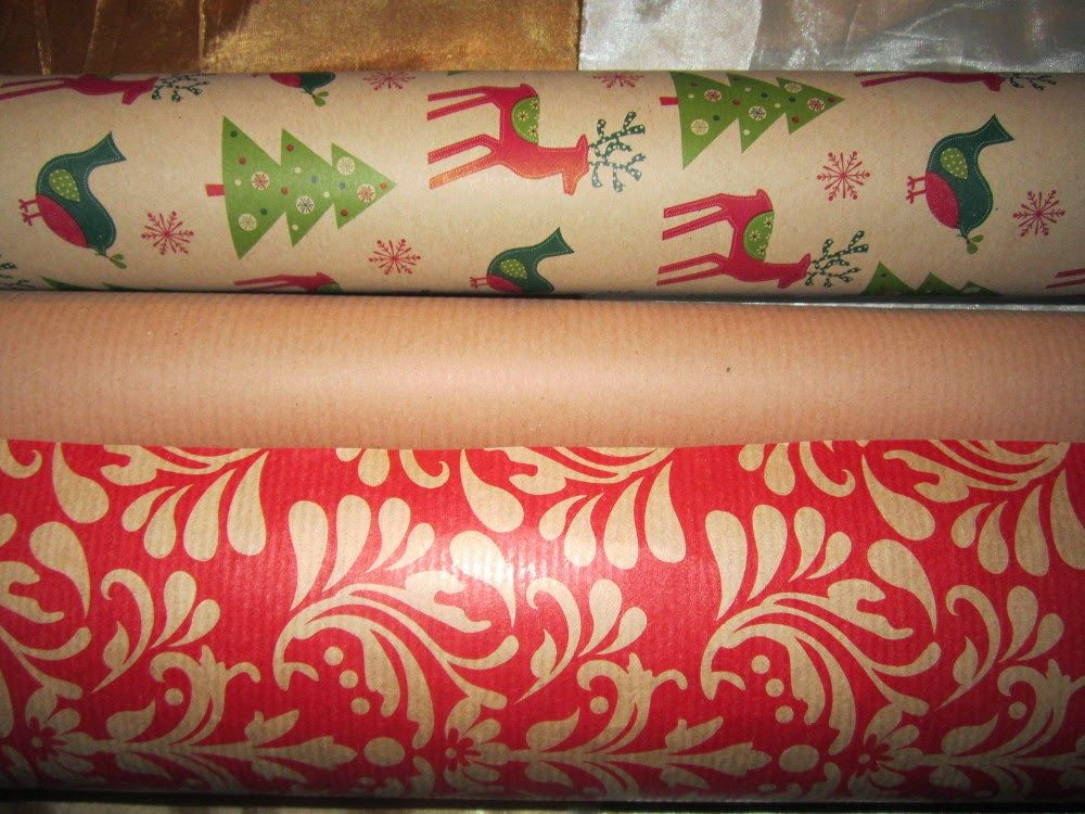 My favourite colours for Christmas wrapping!