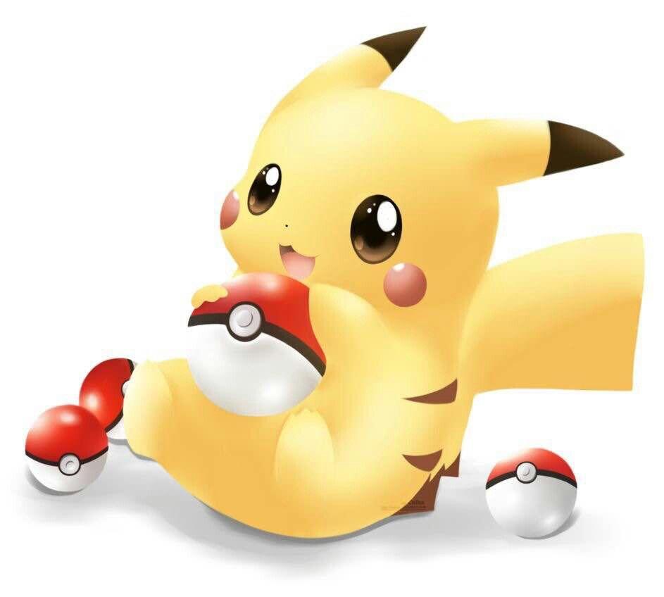 Cute little PIKACHU!!!!!!!   Cute pokemon, Pikachu drawing ...