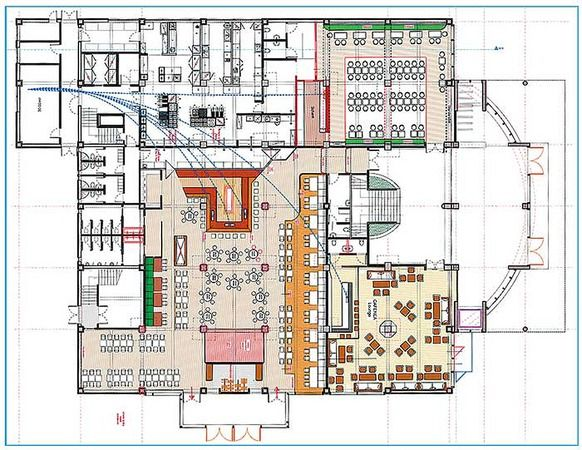 Theme Restaurant Design Planning Here The Groundfloor Plan For