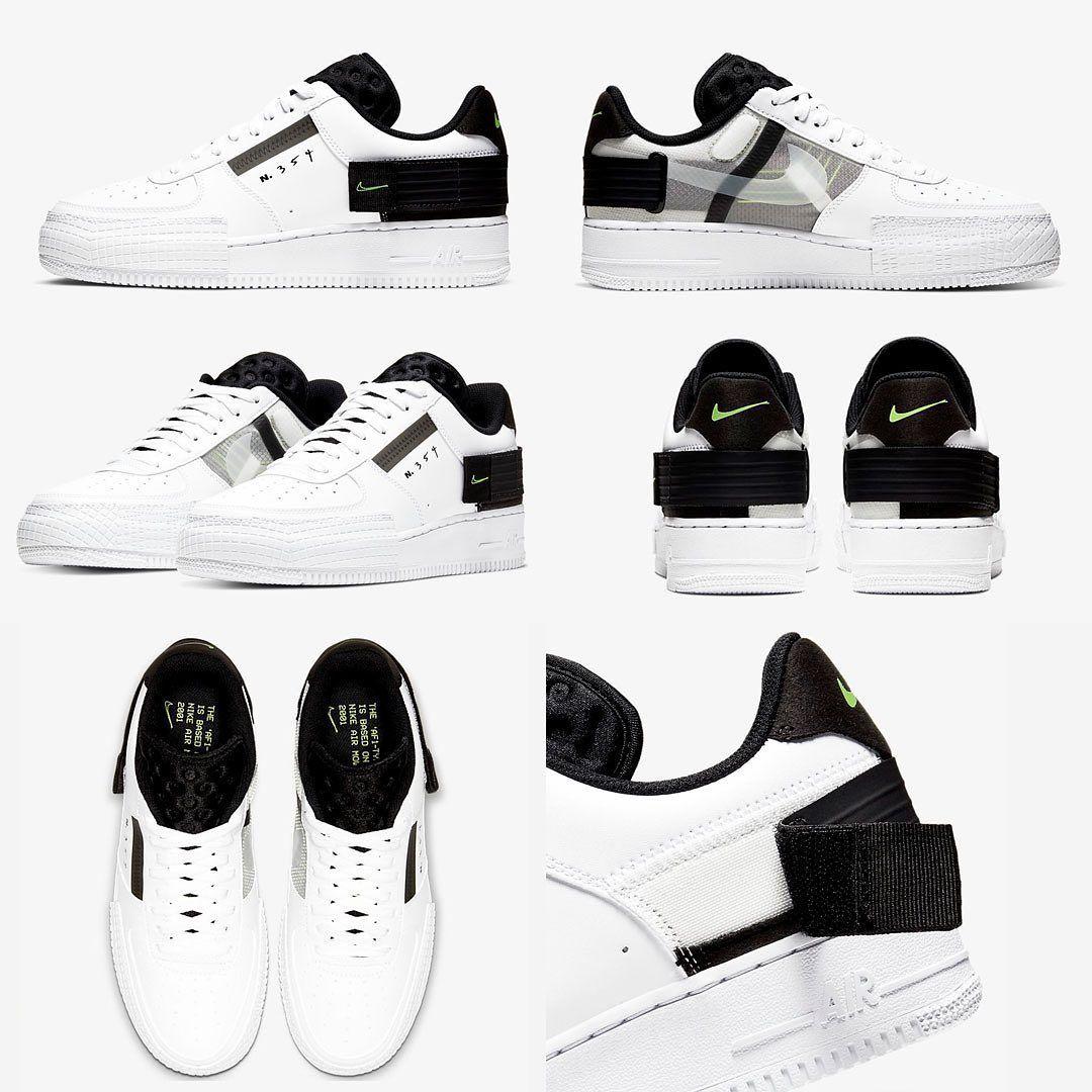 Zapatillas Nike Air Force Type N.354 Black