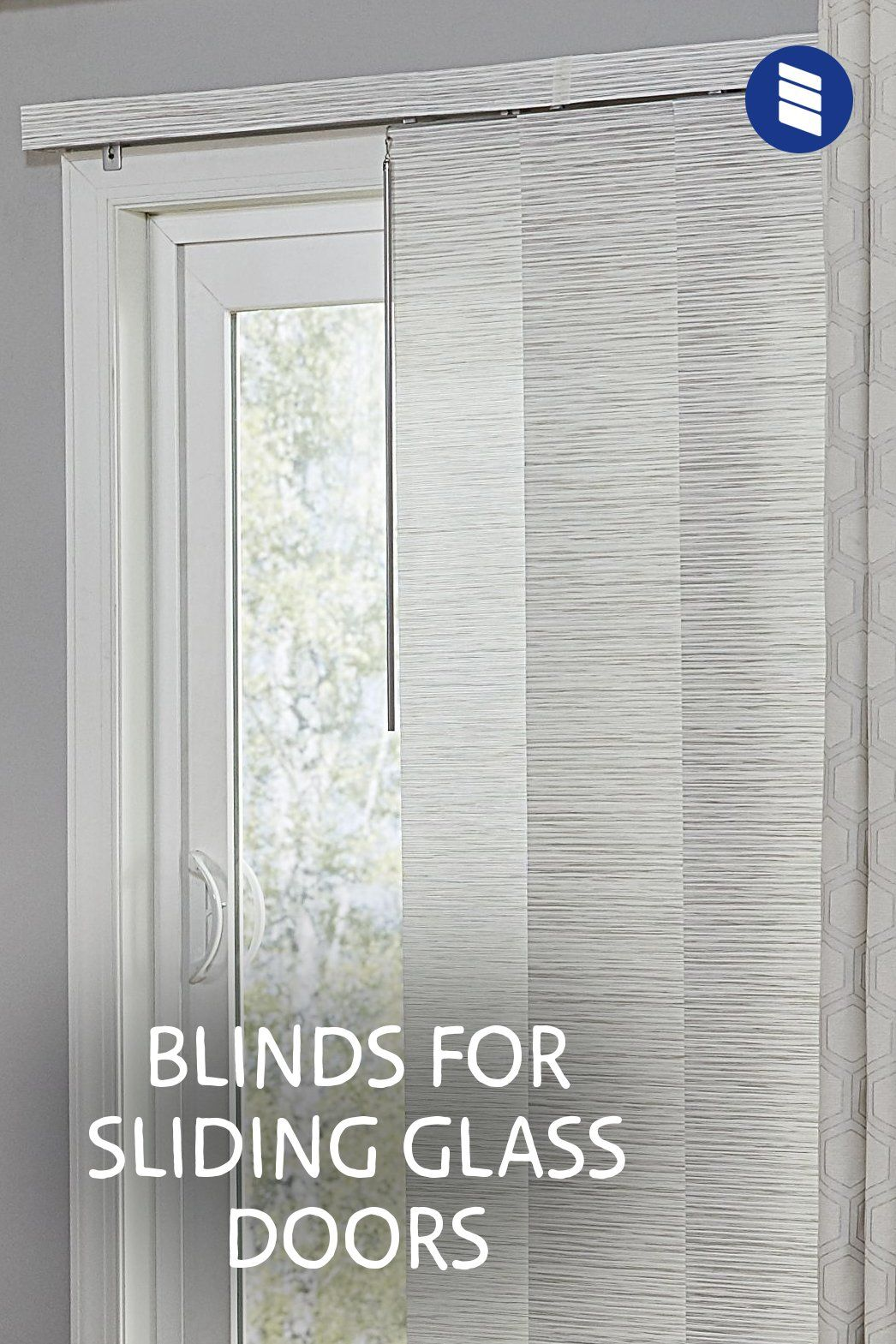 The Best Vertical Blinds Alternatives For Sliding Glass Doors Blinds Com In 2020 Vertical Blinds Alternative Sliding Patio Doors Window Treatment Sliding Glass Door Window Treatments