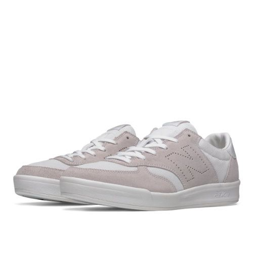 best loved 26fe0 aac5b 300 Suede Men s Court Classics Shoes - White Off White (CRT300FF)