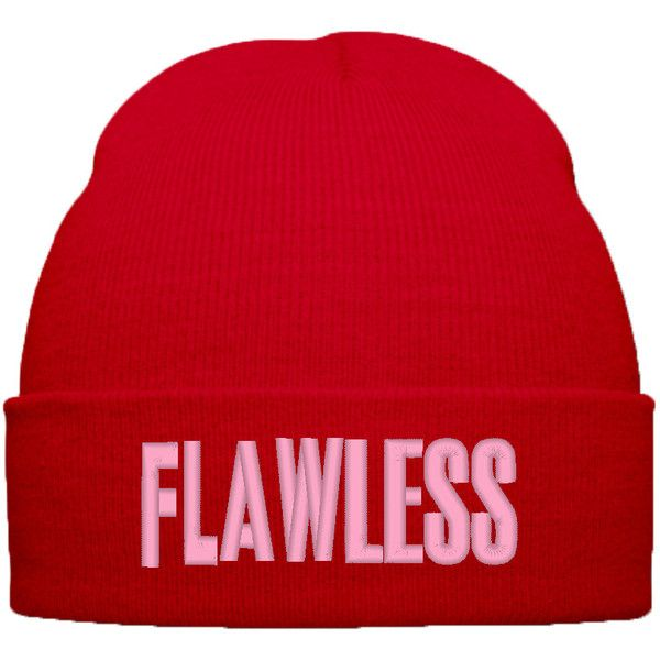 d7f66ebd2d79c BEYONCE FLAWLESS BEANIE WINTER HAT ( 20) ❤ liked on Polyvore featuring  accessories