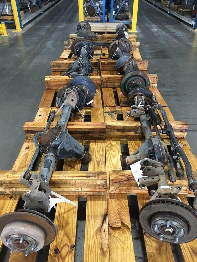 Ad eBay) 06-08 Dodge Ram 1500 Rear Axle Assembly 3 92 Ratio