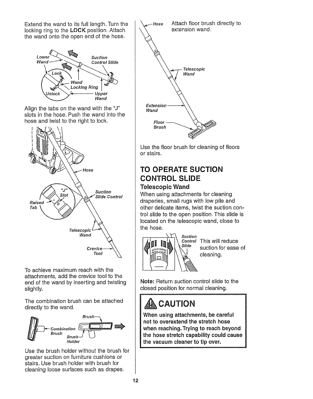 page 12 of kenmore vacuum cleaner 116 35922 user s guide rh pinterest com kenmore canister vacuum instruction manual kenmore canister vacuum user manual