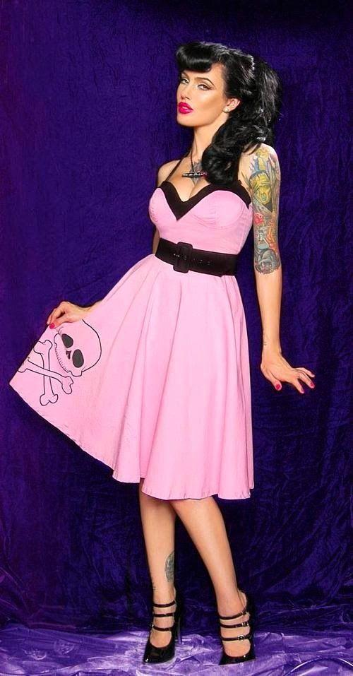Alternative pinup girl | dresses | Pinterest | Moderno