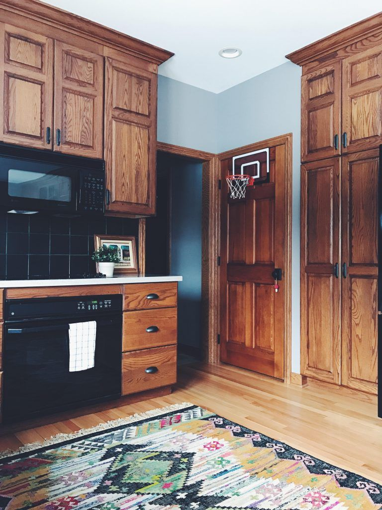 Your Gathered Home An Artist S Hand Painted Home In Grand Rapids Mi House Renovation Projects Kitchen Renovation Kitchen Cabinet Styles