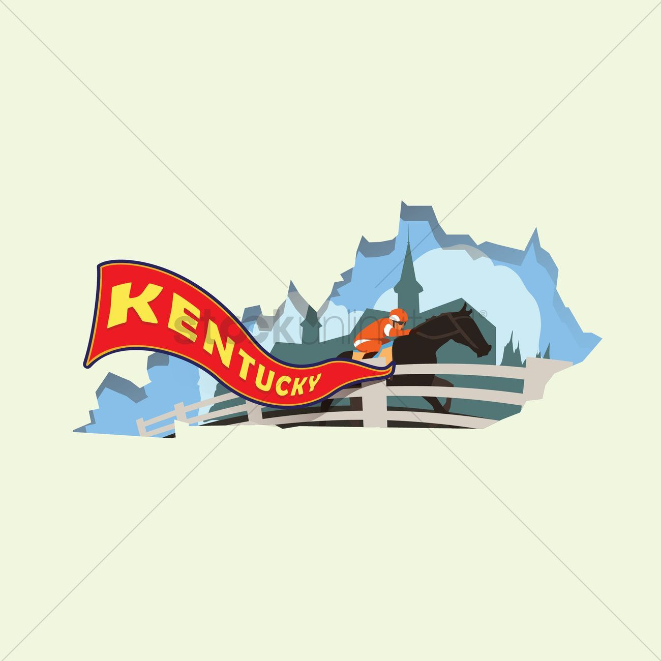 You Don't Have To Be A Designer To Get Awesome Visuals Kentucky map vectors, stock clipart ,