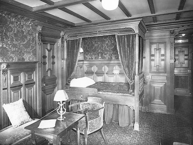 Kleurplaat Frederik Titanic S First Class Stateroom B59 Decorated In Old