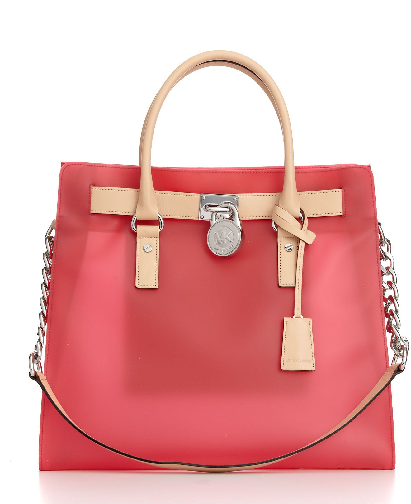 bff66b7b9956 New spring bag  From Michael Kors. I have the black leather version and  it s great!