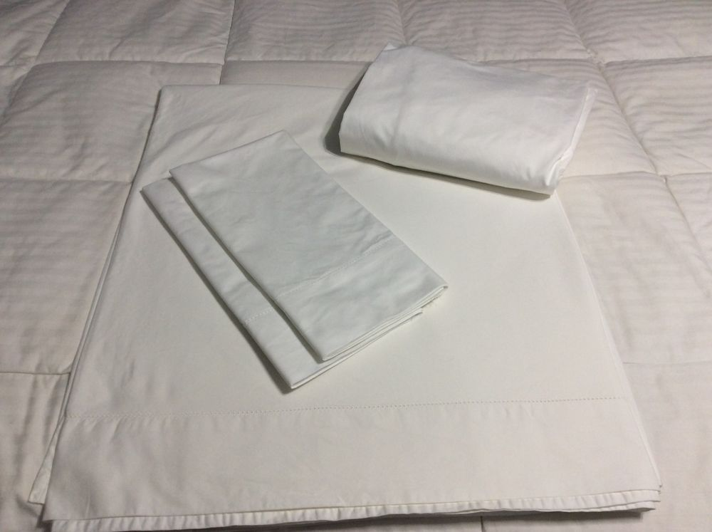 Queen Sheets Northern Nights 700tc 100 Supima Cotton White Northernnights Contemporary