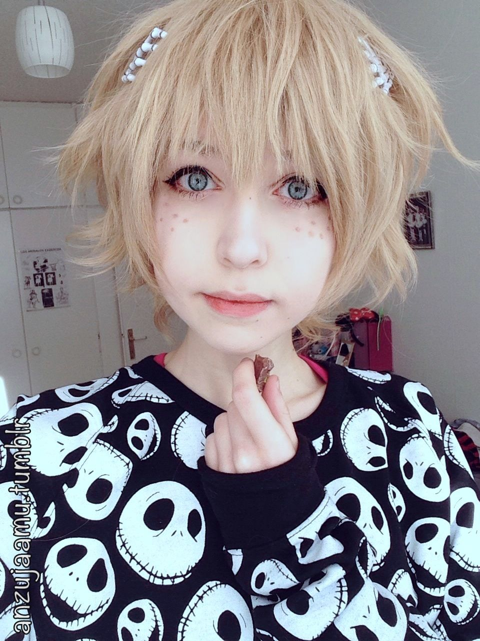 Anzujaamu Google Search Anime Hairstyles In Real Life Anime Hair Long Pixie Hairstyles
