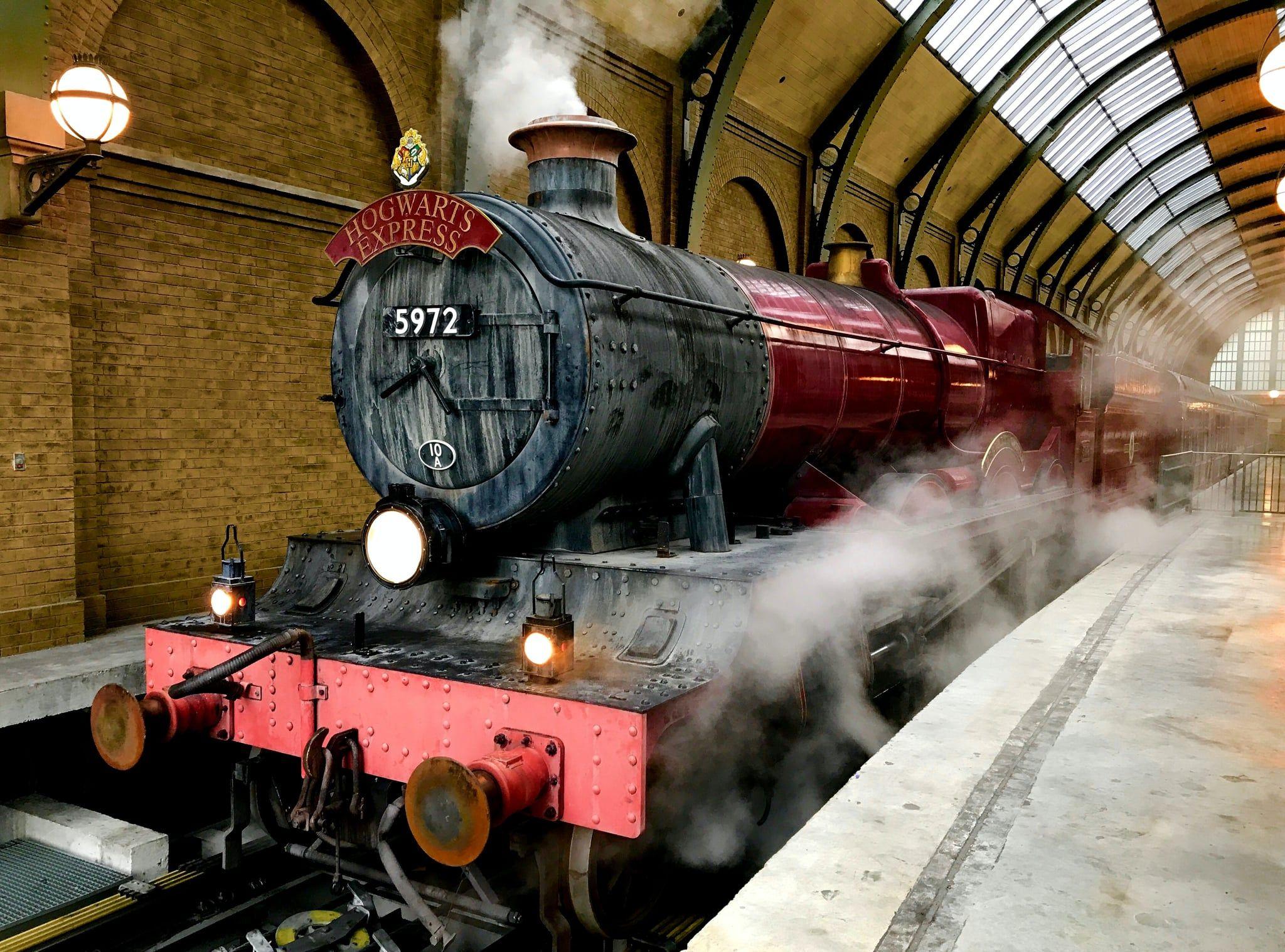 Harry Potter Hogwarts Express Zoom Background Hogwarts Wizarding World Of Harry Potter Harry Potter Riddles