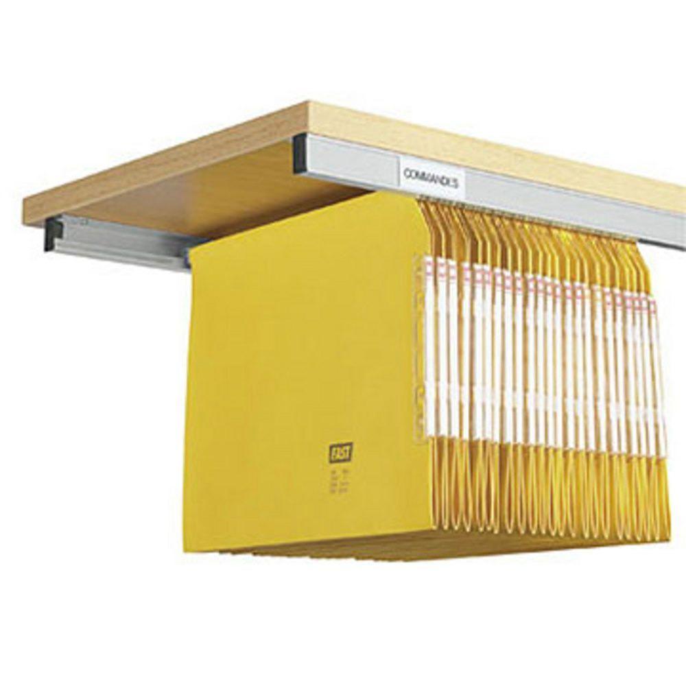Rails Pour Dossiers Suspendus Largeur 114 Cm Lot De 2 Rangement Dossier Rangement Dossier Suspendu Dossiers Suspendus
