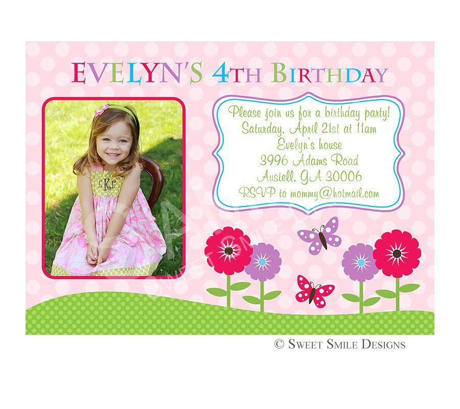 Birthday Invitation Wording By Email Birthday Party Invitations - 1st birthday invitation wording email