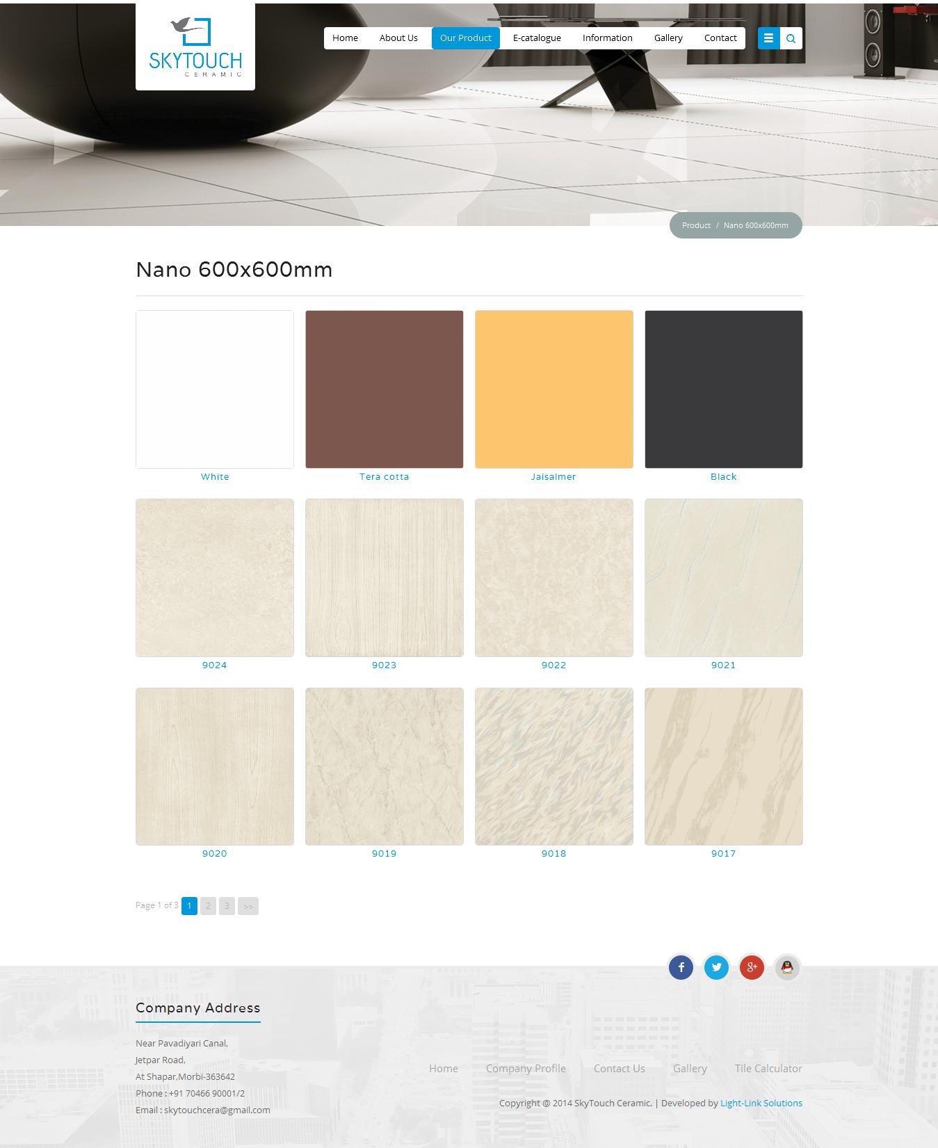 SKYTOUCH CERAMIC PVT. LTD. - Tiles Gallery For More Details : http ...