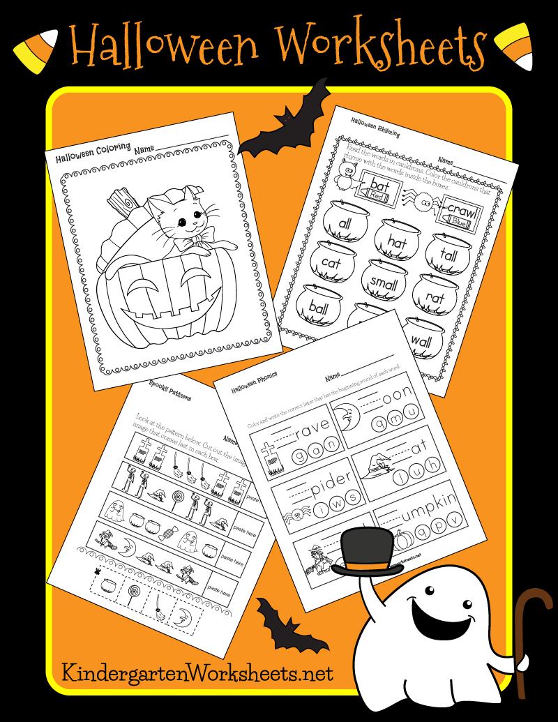 Kindergarten Halloween Worksheets Halloween Worksheets Subtraction Kindergarten Halloween Kindergarten [ 1035 x 800 Pixel ]