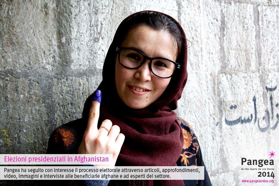 Elezioni presidenziali in Afghanistan / Pangea ha seguito con interesse il processo elettorale attraverso articoli, approfondimenti, video, immagini e interviste alle beneficiarie afghane e ad esperti del settore.