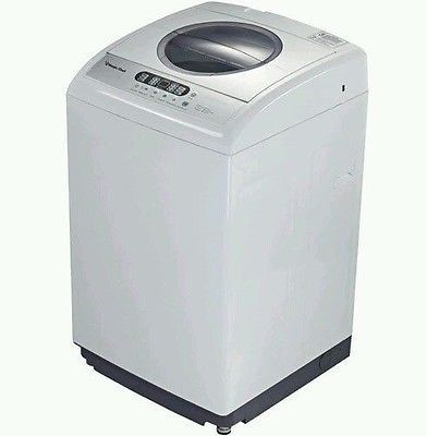 New White Magic Chef 2.1 cu. ft. Top Load Portable Washer Quiet 6 Wash Cycles