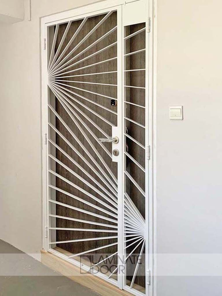 Hdb Mild Steel Gate Install Hdb Gate In Singapore At Factory Price Metal Doors Design Steel Gate Steel Door Design